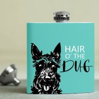 Jock - Hip Flask - Hair of Dug